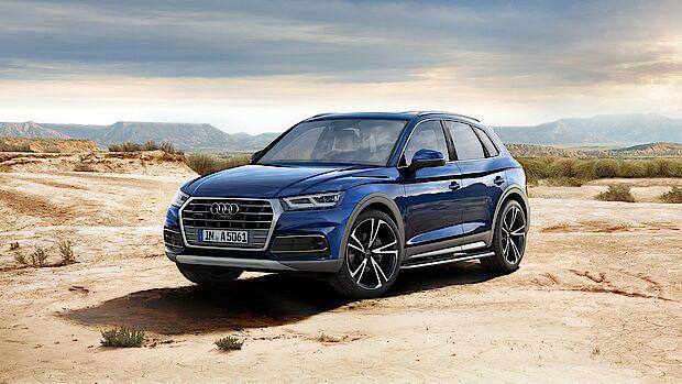 Audi Q5 als Neuwagen im Gewerbeleasing