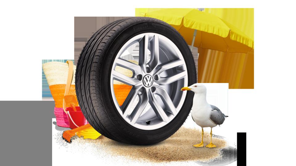 Räder Reifen Von Volkswagen Auto Senger