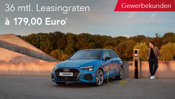 Audi A3 e-tron im Leasing für Gewerbekunden