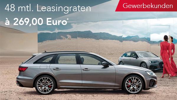 Audi A4 Avant im Leasing für Gewerbekunden