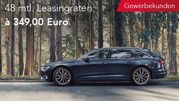 Audi A6 Avant im Leasing für Gewerbekunden