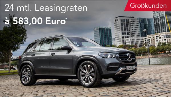 Mercedes-Benz GLE im Leasing