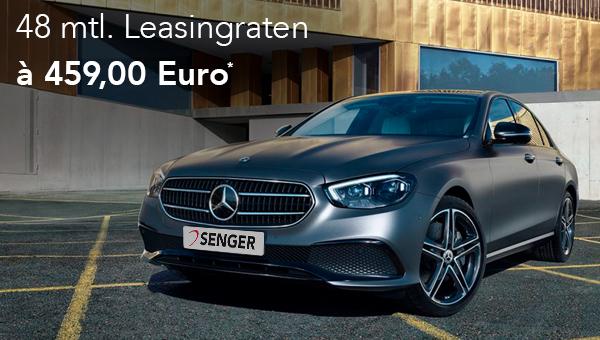 Mercedes-Benz E-Klasse Limousine im Leasing