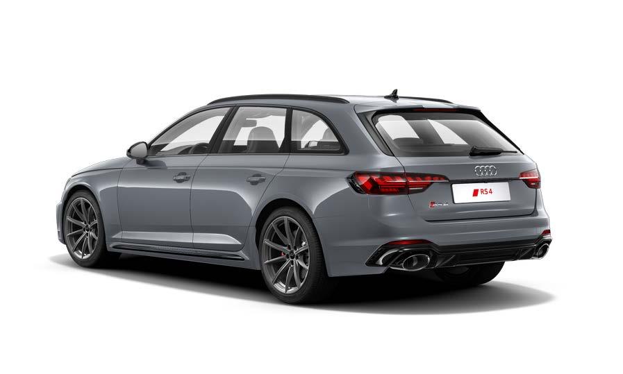 Audi RS4 Avant im Gewerbekundenleasing