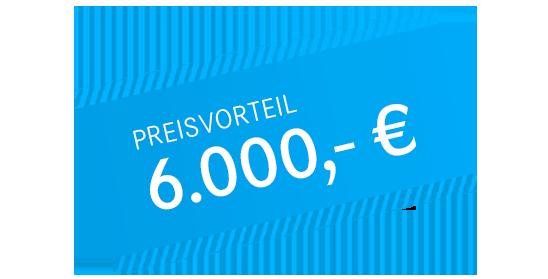 6000 Euro Preisvorteil bei B-Klasse Finanzierung