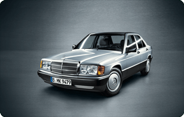 Service VorteilsKarte – Mercedes 190er – Baureihe 201
