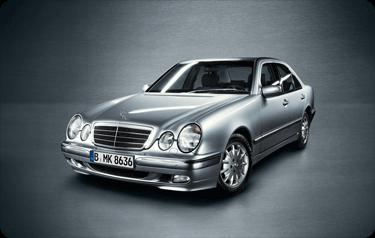 Service VorteilsKarte – Mercedes E-Klasse – Baureihe 210