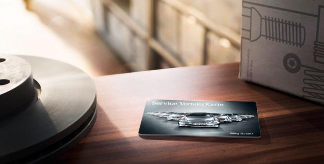 Service VorteilsKarte Mercedes-Benz