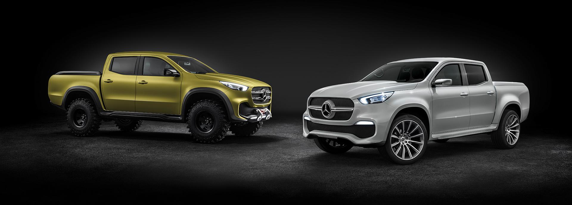 Die X-Klasse, der Premium-Pickup von Mercedes-Benz | Auto Senger
