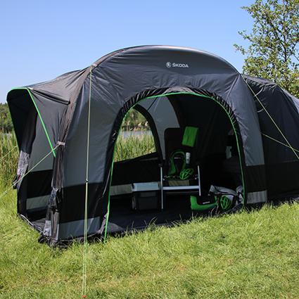 ŠKODA-Campingzelt
