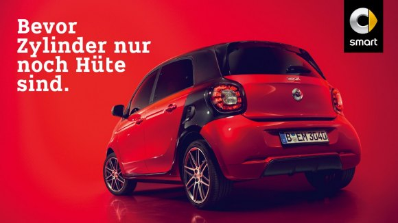 smart forfour als Benziner leasen