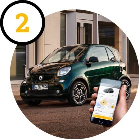 smart ready to share: Zeiten festlegen