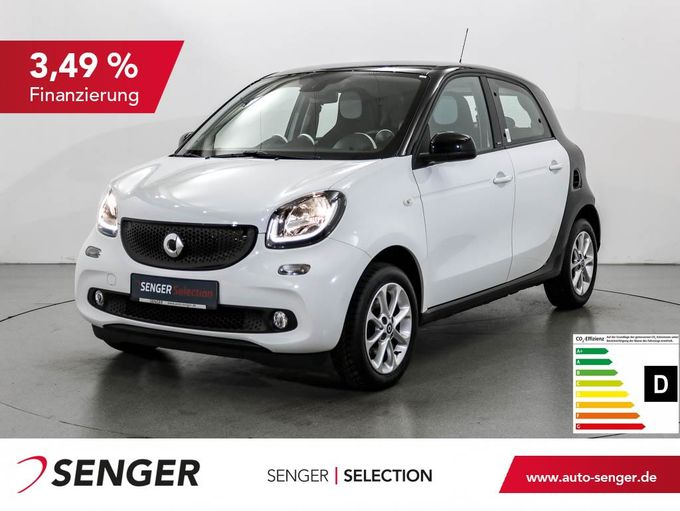 Smart forfour 1.0 Passion Cool & Media-Paket Sitzhzg.