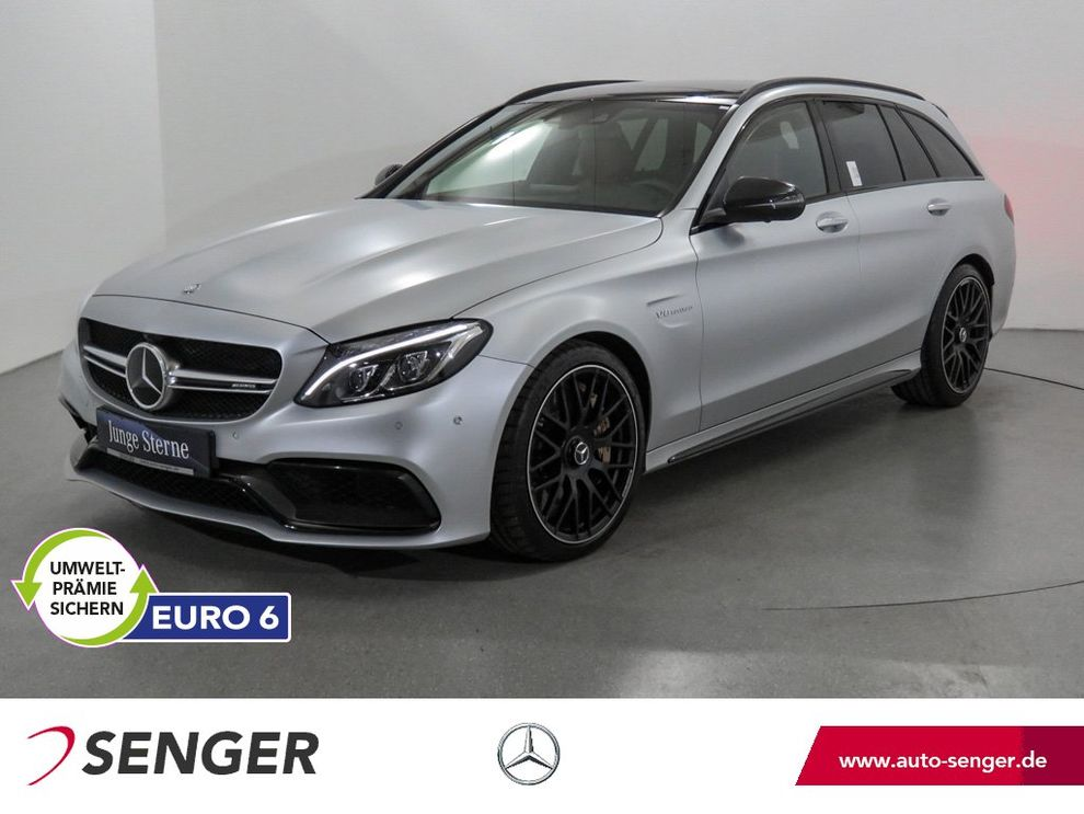 Mercedes-Benz C 63 T AMG S Panorama Drivers-Package Designo