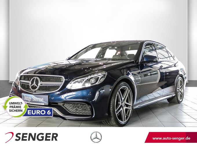 Mercedes-Benz E 63 AMG 4M Comand Drivers-Package Glas-SD 360°K