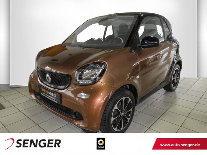 Smart fortwo coupé 66kW turbo Panorama Cool & Media