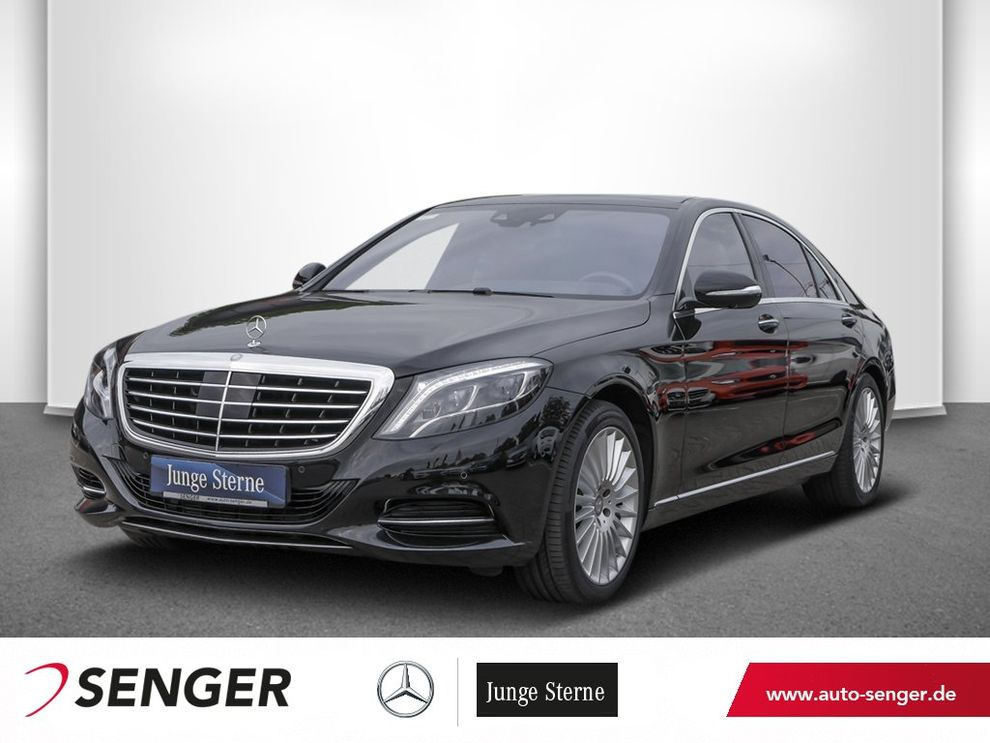 Mercedes-Benz S 500 4M Lang Panorama Head-Up Standhzg.Airmatic