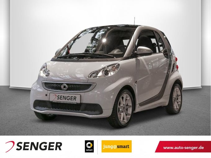 Smart fortwo coupe electric drive Panorama Sitzheizung