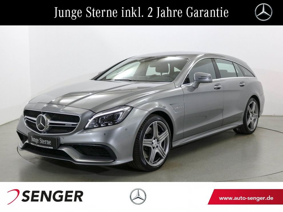 Mercedes-Benz CLS 63 AMG 4 M SB Drivers-Pack Distronic Comand