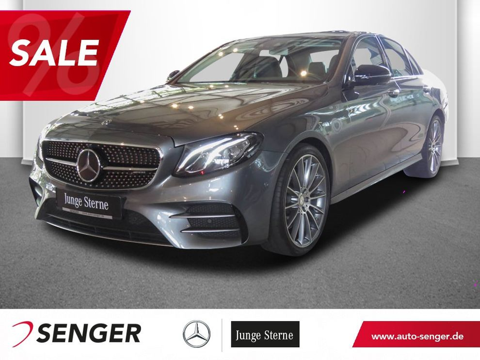 Mercedes-Benz E 43 AMG 4M Panorama Standheizung Head-Up 360°K.