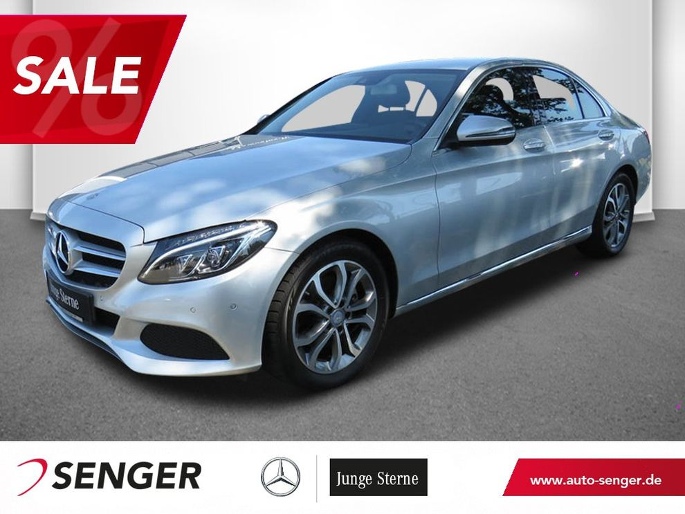 Mercedes-Benz C 220 d Avantgarde Comand AHK Aktiver Parkassist