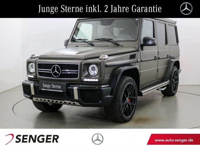 Mercedes-Benz G 63 AMG Edition 463 Drivers-Pack AHK Standhzg.