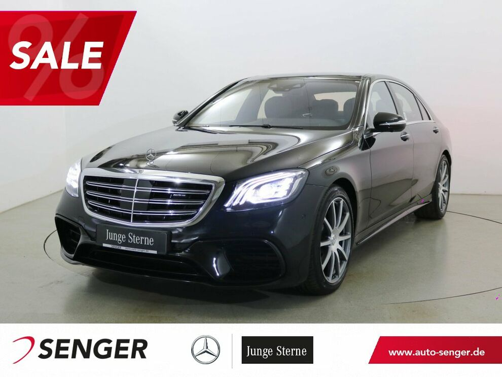 Mercedes-Benz S 63 AMG 4M Lang Panorama Distronic TV Standhzg.