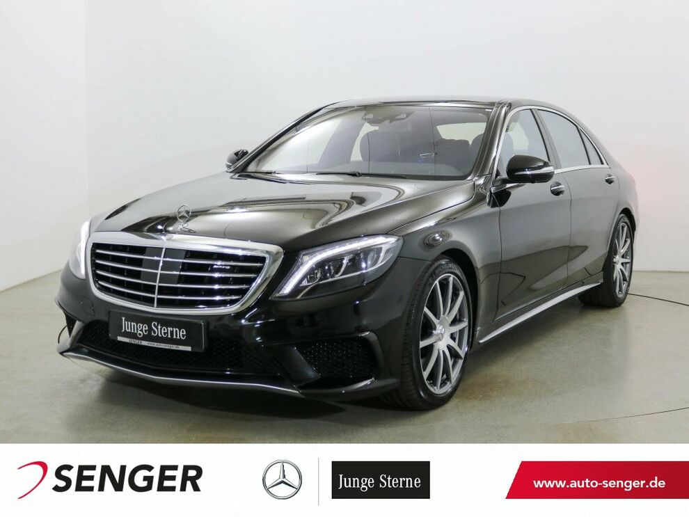 Mercedes-Benz S 63 AMG Lang Panorama AHK Burmester Head-Up
