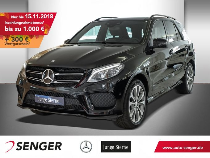 Mercedes-Benz GLE 500 4M AMG+DISTRONIC+360°+PANO+NIGHT+B&O+AIR