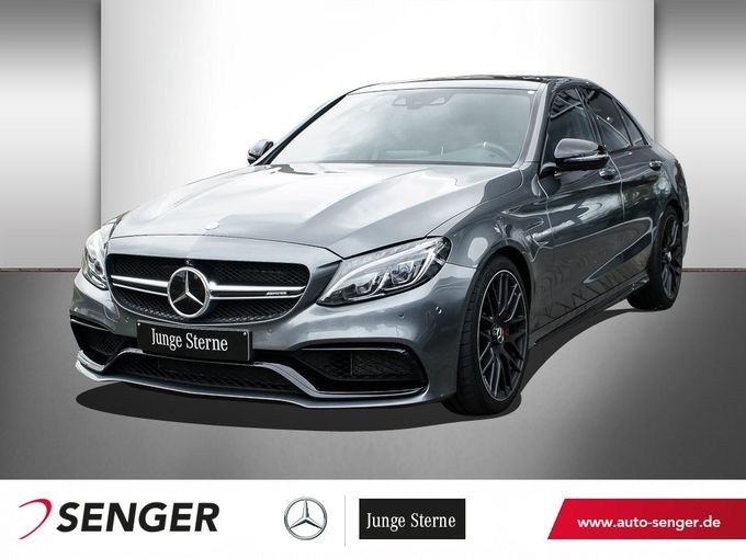 Mercedes-Benz C 63 S AMG DRIVERS PACKAGE+BURMESTER+PANO+360°