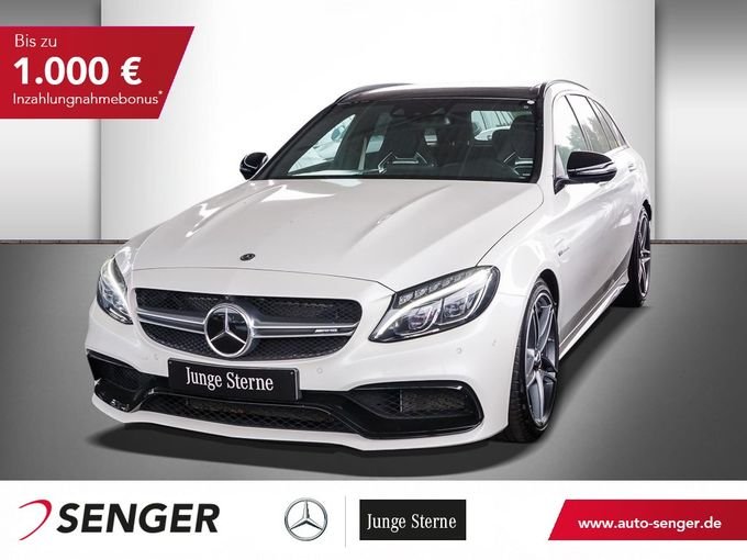 Mercedes-Benz C63 T AMG S+COMAND+PANO-SHD+360°KAMERA+NIGHT-PAK
