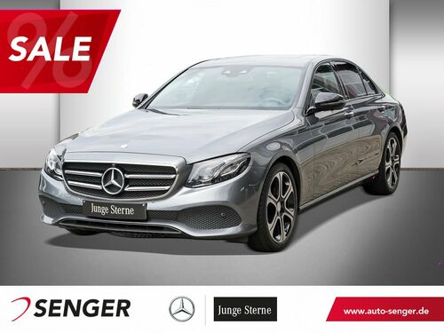 Mercedes-Benz E 220D LIMOUSINE AVANTGARDE+NAVI+LED+NIGHT-PAKET