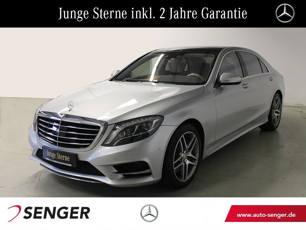 Mercedes-Benz S 500 lang AMG-Styling+Distronic+Park-P.+Burmest