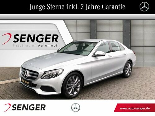 Mercedes-Benz C 200 +Avantgarde+LED+Navi+Standheizung+Ambiente