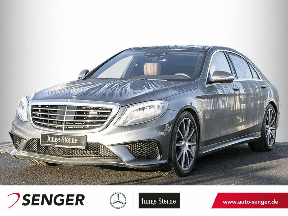Mercedes-Benz S 63 AMG 4M lang*Driver`s*Panorama*Distronic*LED